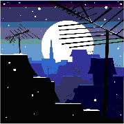 La nuit se pose