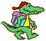 Un crocodile(2